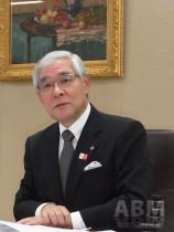 グンゼの児玉和代表取締役社長。 「挑戦・新生・結集」3つのキーワードで 飛躍を目指す