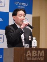 「街のような空間を提供する」と語る 中田基之取締役本店長