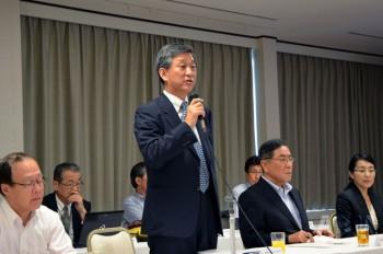 一般社団法人 日本縫製機械工業会 副会長で JIAM2016実行委員長 近藤章吾氏