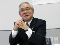 2015年の経営方針を語る グンゼ、児玉和社長