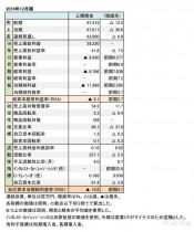 三陽商会、2016年12月期 財務諸表(表1)