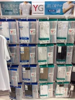カットオフモデルが 定番になりつつある「YG」
