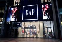 ギャップ社の2020年1月期は 減収減益となった(写真は「ギャップ」の店舗)