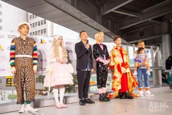 「シブハラユーズドファッションショー」のモデルたち