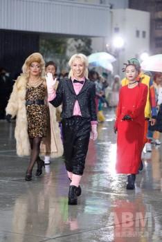 「シブハラユーズドファッションショー」の様子