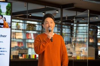 ギャップジャパン(株)の 峰尾大史シニアディレクター