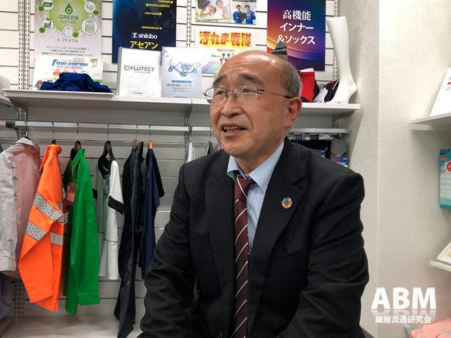 シキボウ株式会社 戦略素材企画推進室長 辻本裕 氏