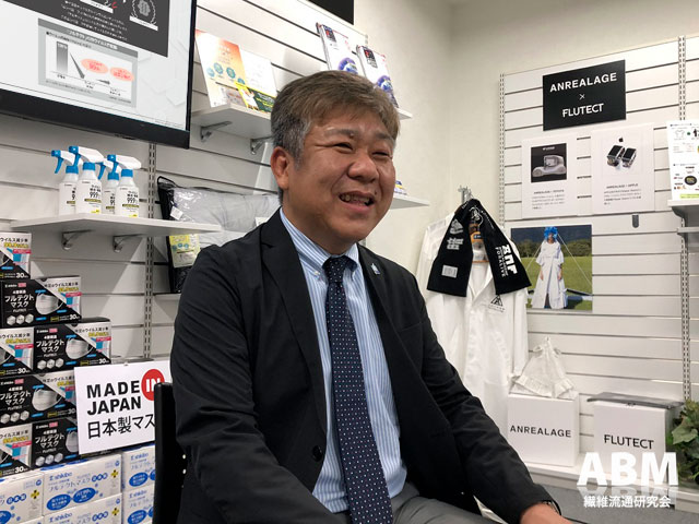 シキボウ株式会社 繊維部門営業第二部長 執行役員 尾﨑友寿 氏