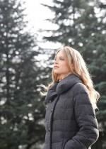 婦人服コートブランド「サンヨー」 再生羽毛「グリーンダウン」を用いたダウンコート