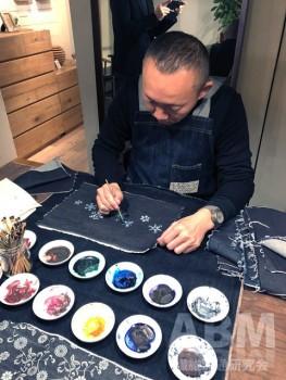 「ライフスタイル展」: 桑山デザイナーによる京友禅染めのワークショップも開催