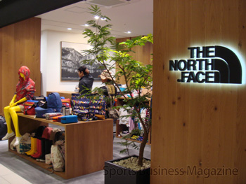 収益の柱、「ザ・ノース・フェイス」