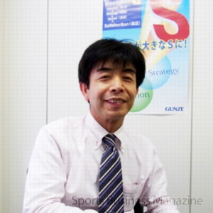 小澤七洋取締役インナーウエア事業本部長