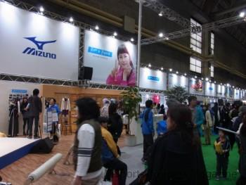 ミズノは柴咲コウを起用した 新しいイメージを発信 (大阪マラソンEXPO)