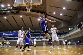 3月18−19日、大阪・舞洲アリーナで 開催された時の試合の様子