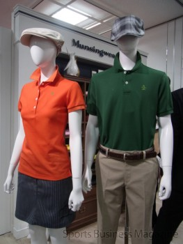 まず「マンシングウェア」で 店頭オペレーションの効率化を進める