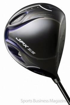 50-60代ゴルファーへ向けた 「ミズノ JPX EⅢ」シリーズ。 写真はドライバー