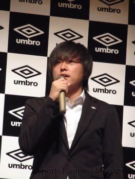 発表会で「アクセレイター ESE」の印象を語る 遠藤保仁選手
