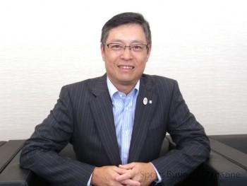デサント、石本雅敏社長