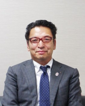 「色々と仕掛けていきたい」と語る 田中嘉一専務取締役