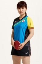 オリンピック効果が表れた。 写真は日本代表ウエア