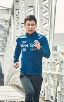 佐藤選手も着用する 「デサント」ブランドの 「MoveSport」ライン