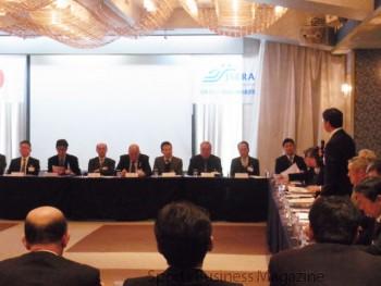 第25回JSERA全国理事長会議。 全国から各理事長が集まった