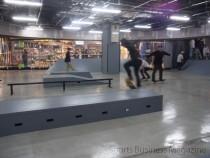 移転リニューアルオープンした スケートボードパーク「スポパー」