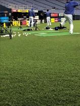 京セラドーム大阪に採用された 野球専用の人工芝 「MS Craft Baseball Turf」