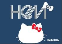 「Hello Kitty」と協業した 「HeM*KITTY」