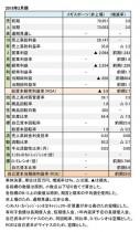 メガスポーツ、2018年2月期 財務数値一覧(表1)