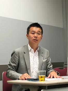 デサントジャパン、 小川典利大 取締役常務執行役員 第1部門長