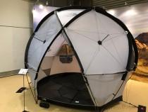 予想を上回る反響の 新しいテント「Geodome4」