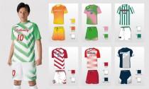 「ロット」ブランドで、 サッカーのチームユニフォームを受注する