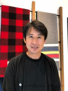 「新しいビジネス、商材を拡張したい」 と語るウールリッチジャパンの川田慎二社長