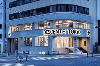 新コンセプトで再出店した 「デサント」の旗艦店舗「DESCENTE TOKYO」
