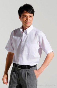 共同企画・開発した 「夏用ビジネスシャツ」