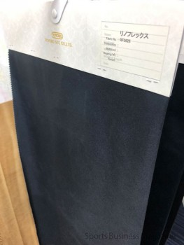 耐摩耗性と快適な着用感を兼ね備えた アウターニット用素材「リノフレックス™」