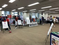 スポーツ関連企業の合同展 「SIMEx2019」(写真は大阪展会場)