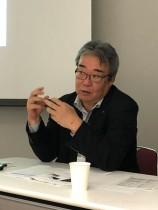 「従来の方針と変わらずブランド強化を進める」 と語る丹羽智之取締役第一部門長