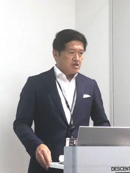 「デジタルマーケティングへのシフトを加速する」と語る デサントジャパン、伊藤隆明 執行役員第2部門長