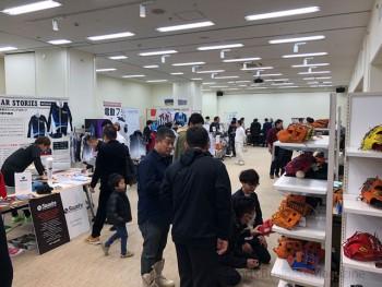 「SIMEx2020」の会場風景 (写真は大阪展)
