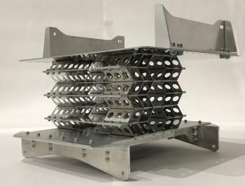 ミズノの技術を採用した 座席の下部分
