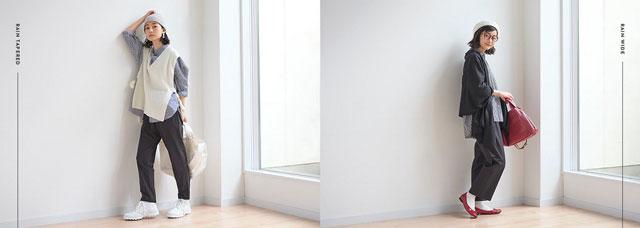 エスエスケイ「ジェーンスタイル」のサブブランド「アメノヒパンツ」