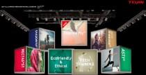 帝人フロンティア、バーチャルなスポーツ展示会の ホームページ画像