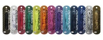「ゼログライドシューレース」。 カラーは13種類と豊富に取り揃えた
